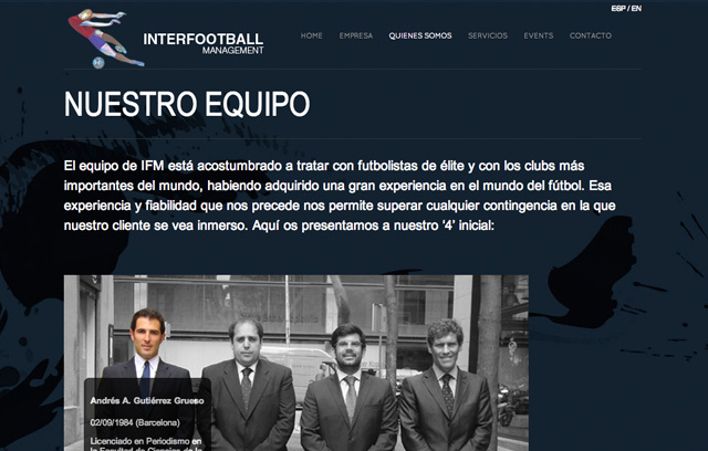 Interfootball Management